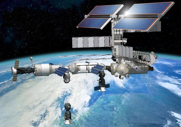 Curiosity en Marte, un hito en la exploración espacial - Página 8 Soyuz-17-approaching-ISS-above-The-Netherlands