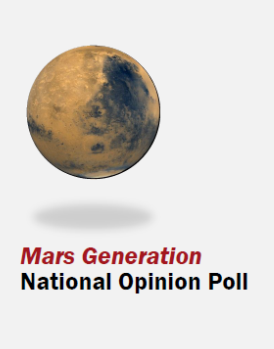 Full Report of Mars Generation Survey Results Available