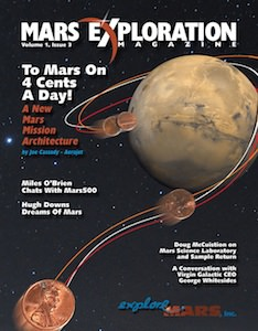 View the July 2011 issue of Mars Exploration Magazine in our interactive reader