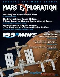 View the April 2011 issue of Mars Exploration Magazine in our interactive reader